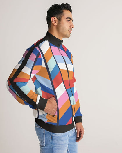 Polymorph Rainbow Stripes Track Jacket