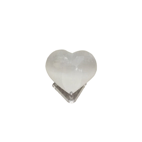 Polymorph Selenite Heart