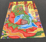 "Polymorph Father Earth (Green Man) Tapestry 60""X80"""