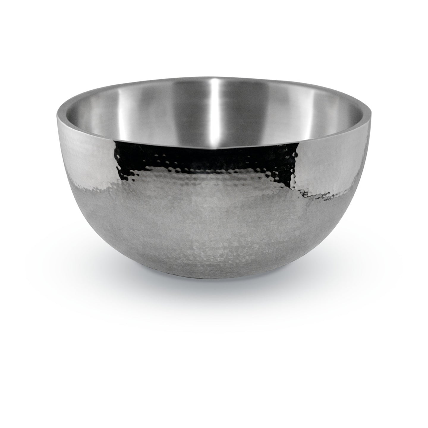 4 Quart Hammered Double-Wall Bowl