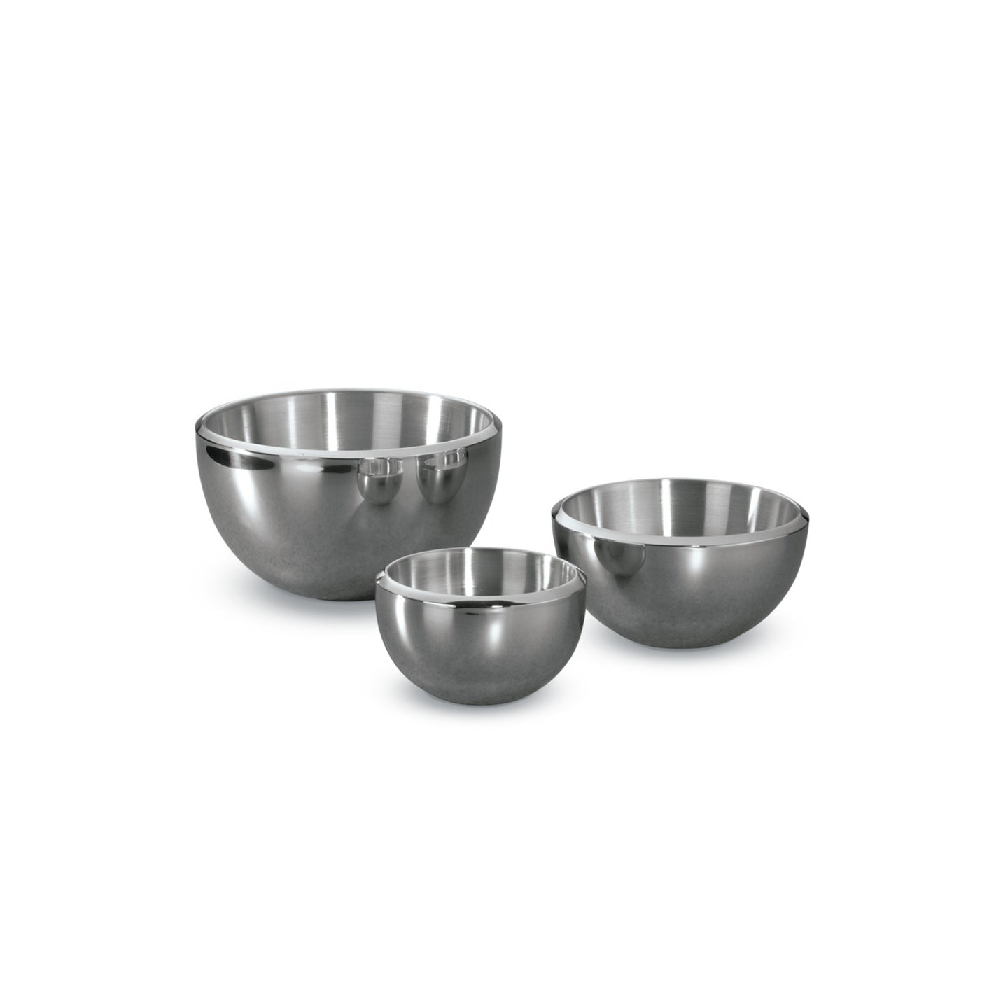 3 Piece Double-Wall Milano Bowls