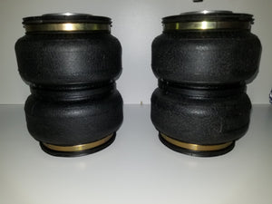 Double bellows airbag