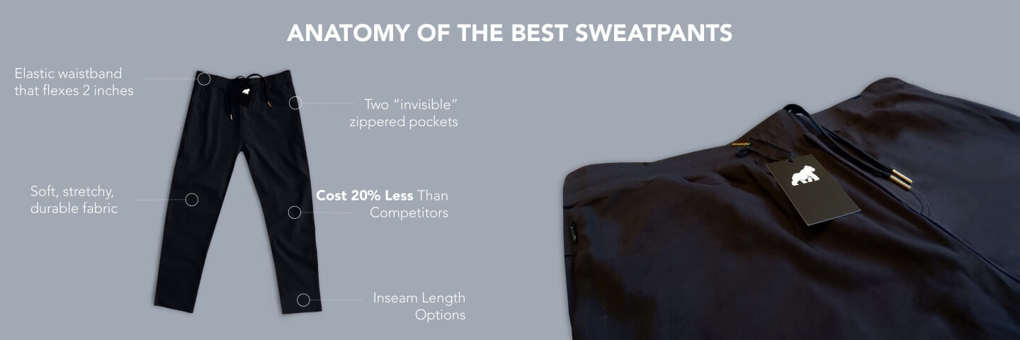 The Anatomy of the World's Best Sweatpants