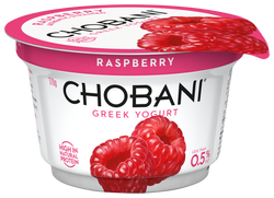Chobani Raspberry Yogurt<br>170g Cup