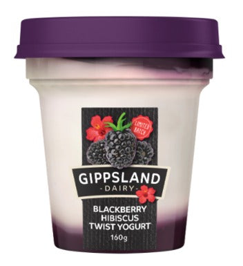 Gippsland Yogurt Blackberry Hibiscus<br>160g Cup