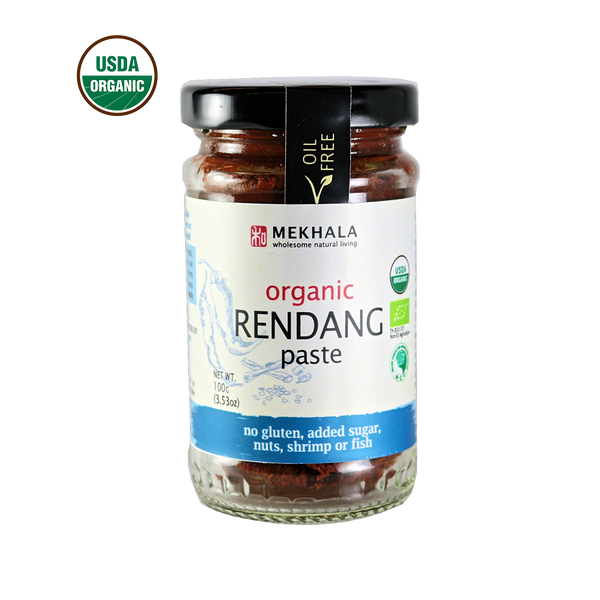 Mekhala Rendang Paste <p> $5.98 / jar<br> Organic