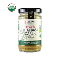 Mekhala Thai Basil Garlic Paste <p> $5.98 / jar<br> Organic