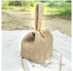 2019 Brand Straw Bags for Women Beach Bag Personality Ladies Purse and Handbags Small Crossbody Bag for Women Shoulder Bag W289