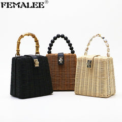 Hot sale 2019, New brand, handmade straw bag