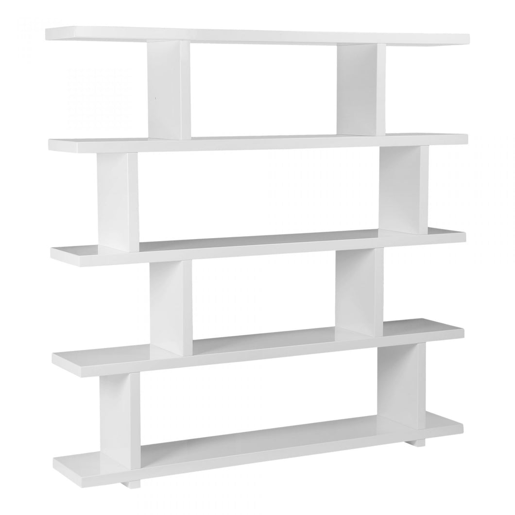 Large White Lacquer Etagere