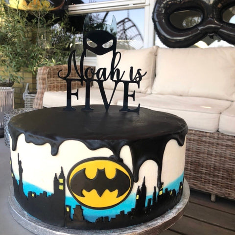 Caketopper - Batman