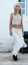 Load image into Gallery viewer, Bohemian Short Boho Crop Top, Organic Clothes
