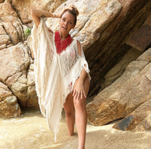 "Load image into Gallery viewer, ALLE BOHO ""AGATHA""  Beachwear Midi Dress & Swimsuit Cover Up more Colors"
