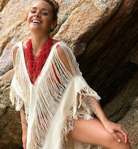"ALLE BOHO ""AGATHA""  Beachwear Midi Dress & Swimsuit Cover Up more Colors"