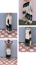 "Load image into Gallery viewer, ALLE BOHO ""ASHLEY"" MAXI COVER UP SKIRT ORGANIC CLOTHING"