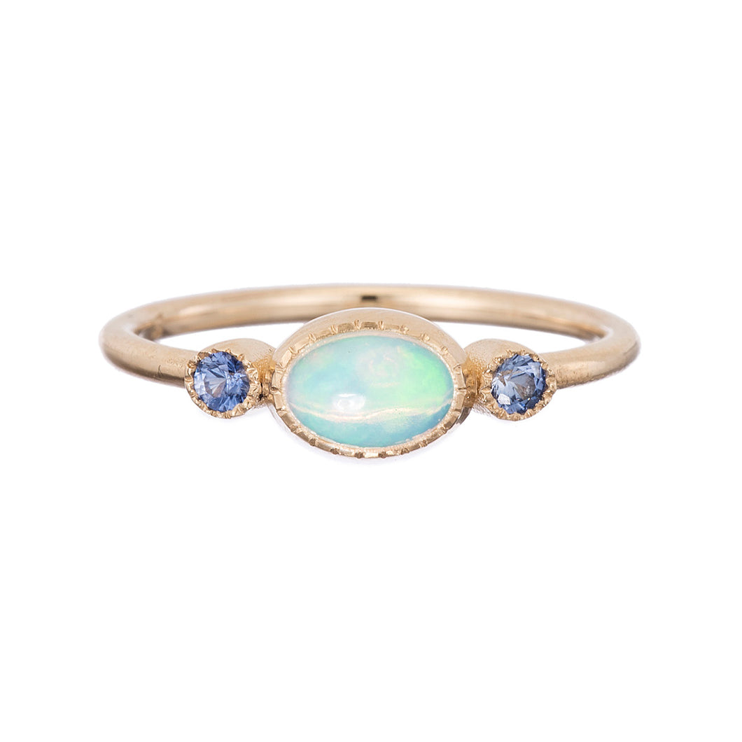 Sapphire Opale Reese Ring