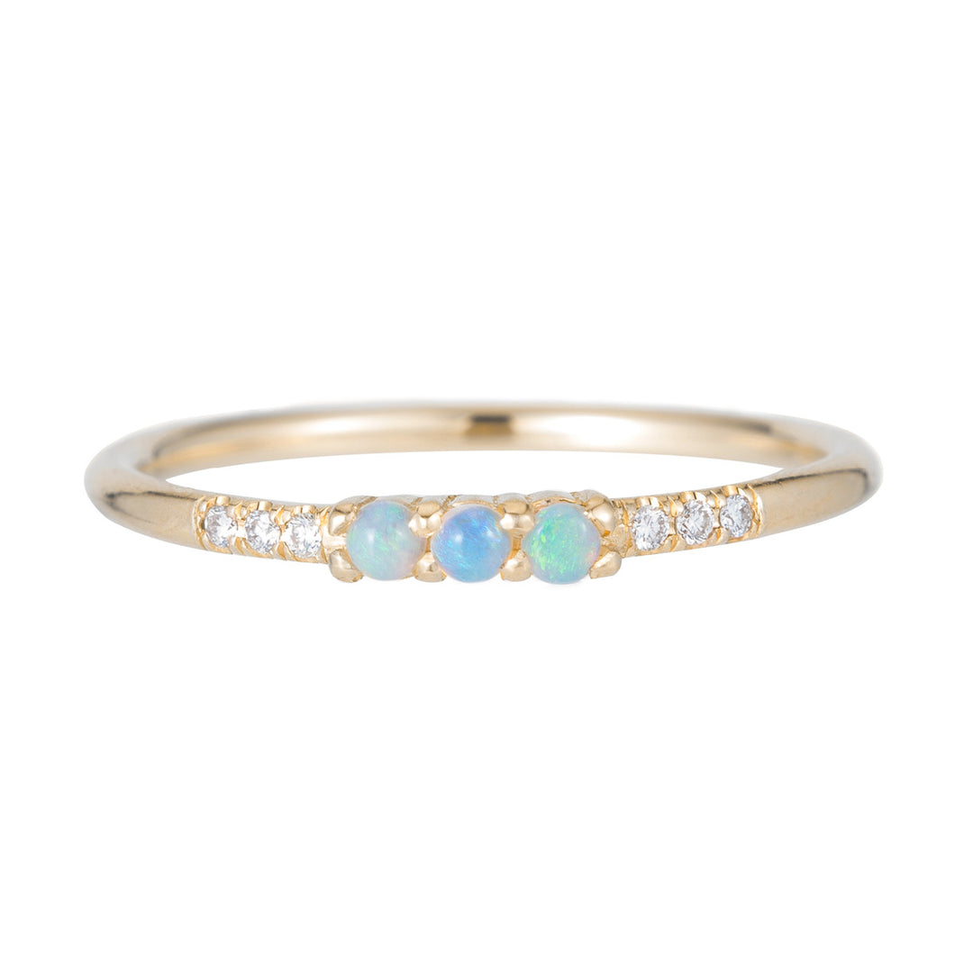 3 opal Equilibrium Ring