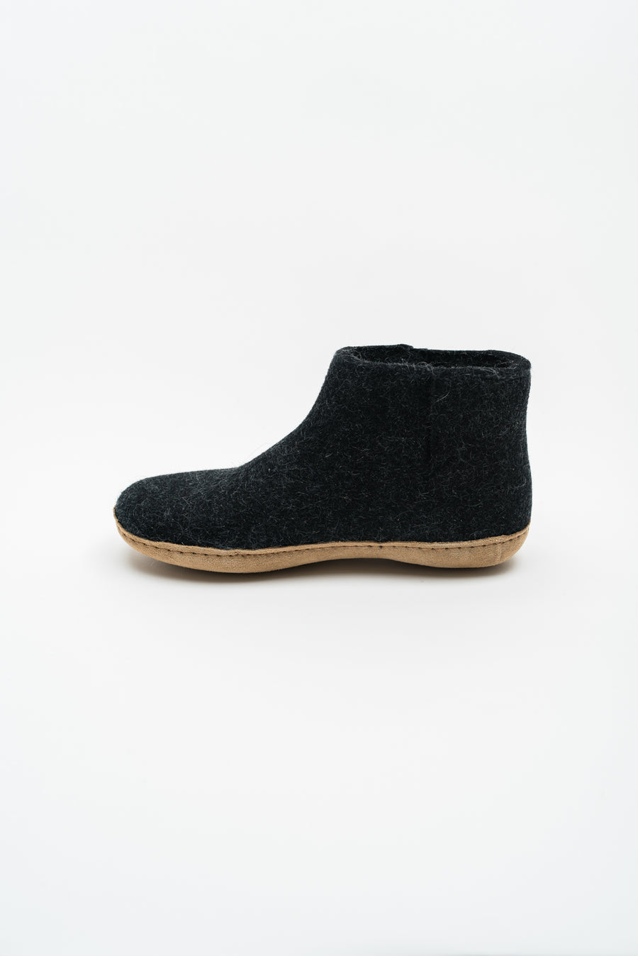 Low Boot - Charcoal