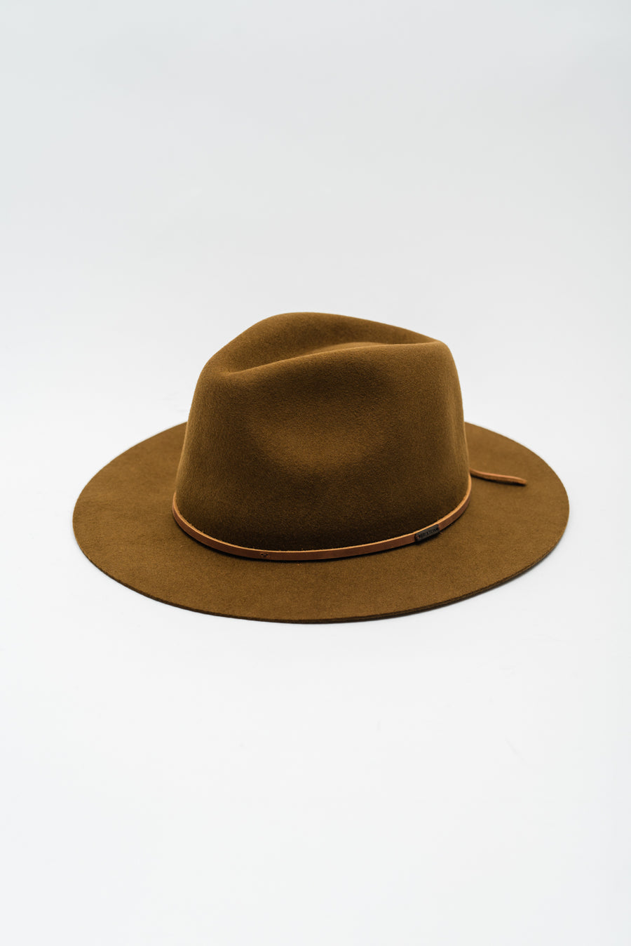Wesley Packable Fedora - Coffee