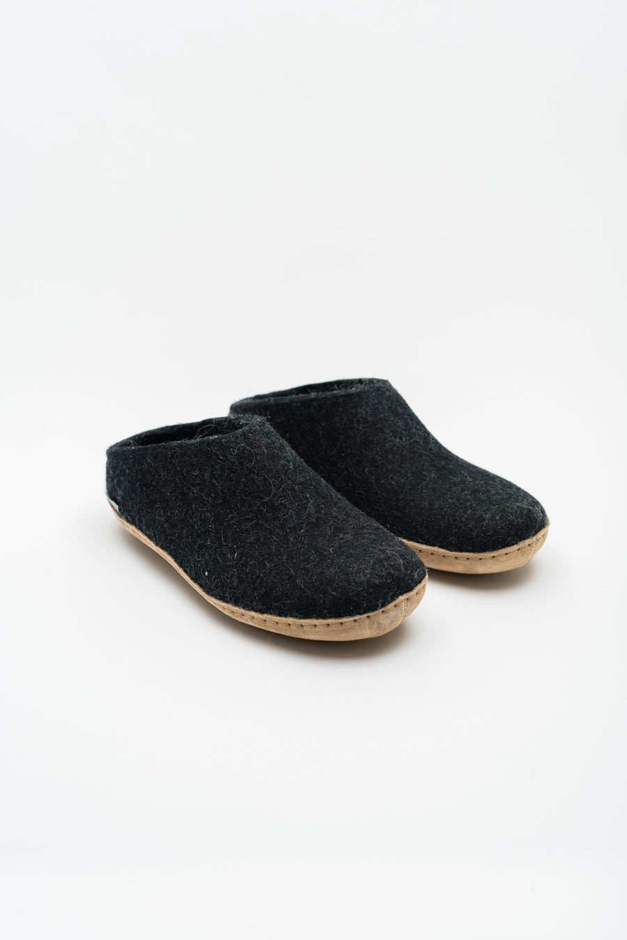 Men's Open Heel Slipper - Charcoal