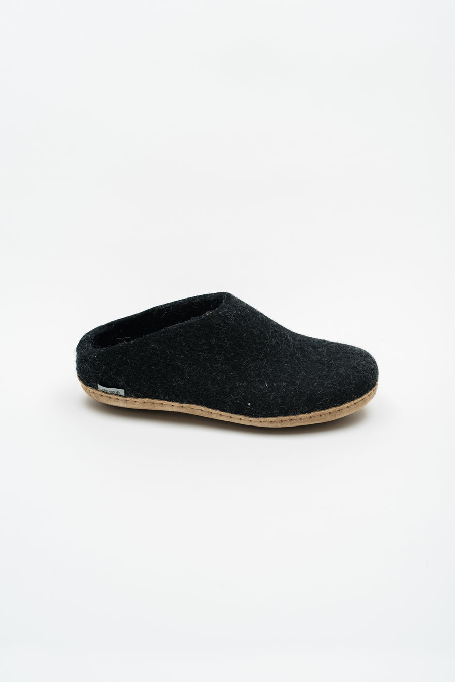 Open Heel Slipper - Charcoal