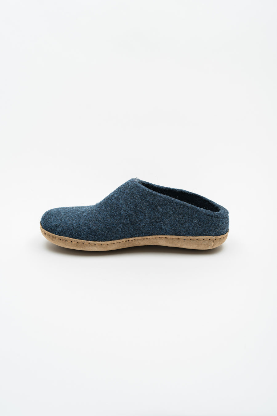 Open Heel Slipper - Denim