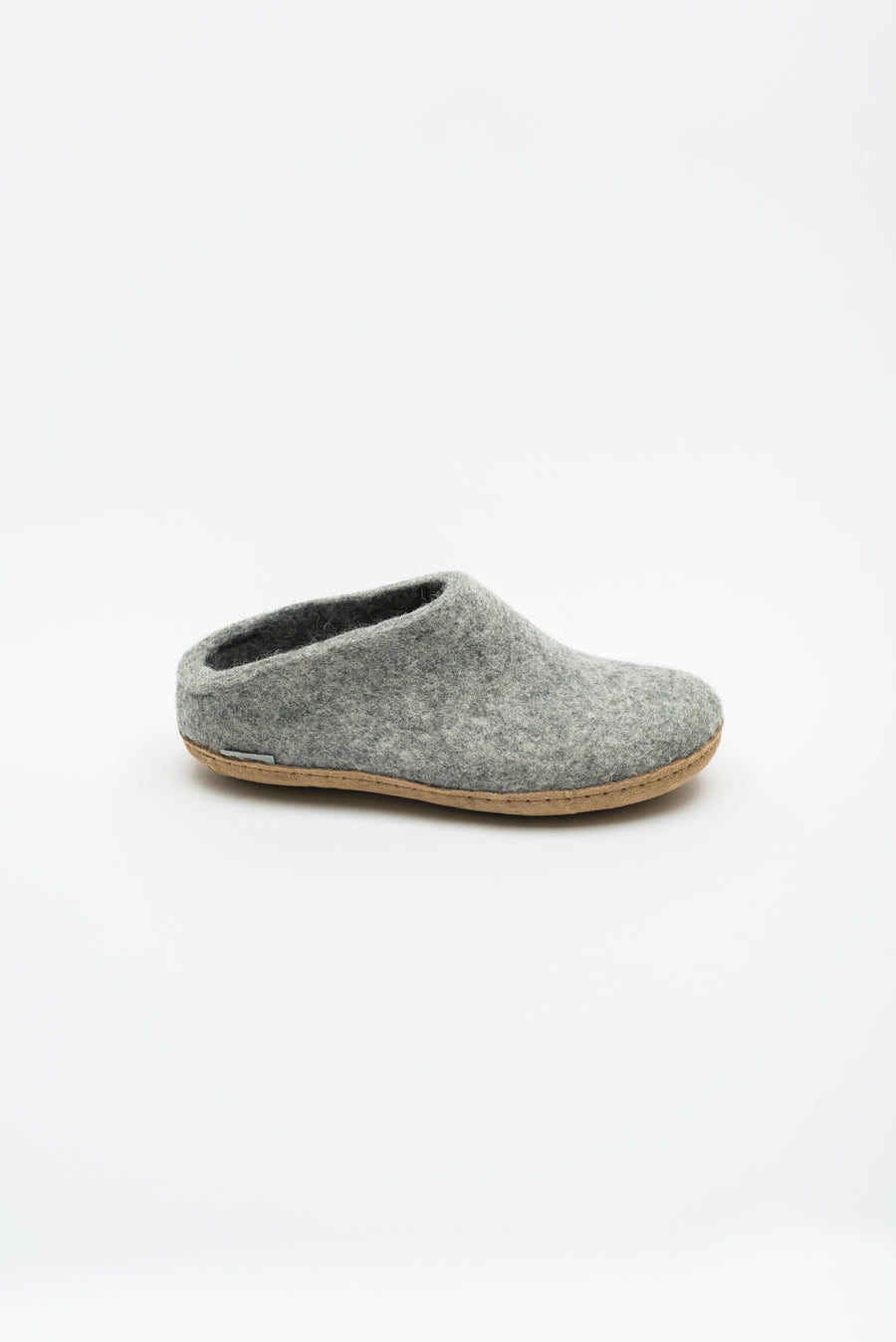 Open Heel Slipper - Grey