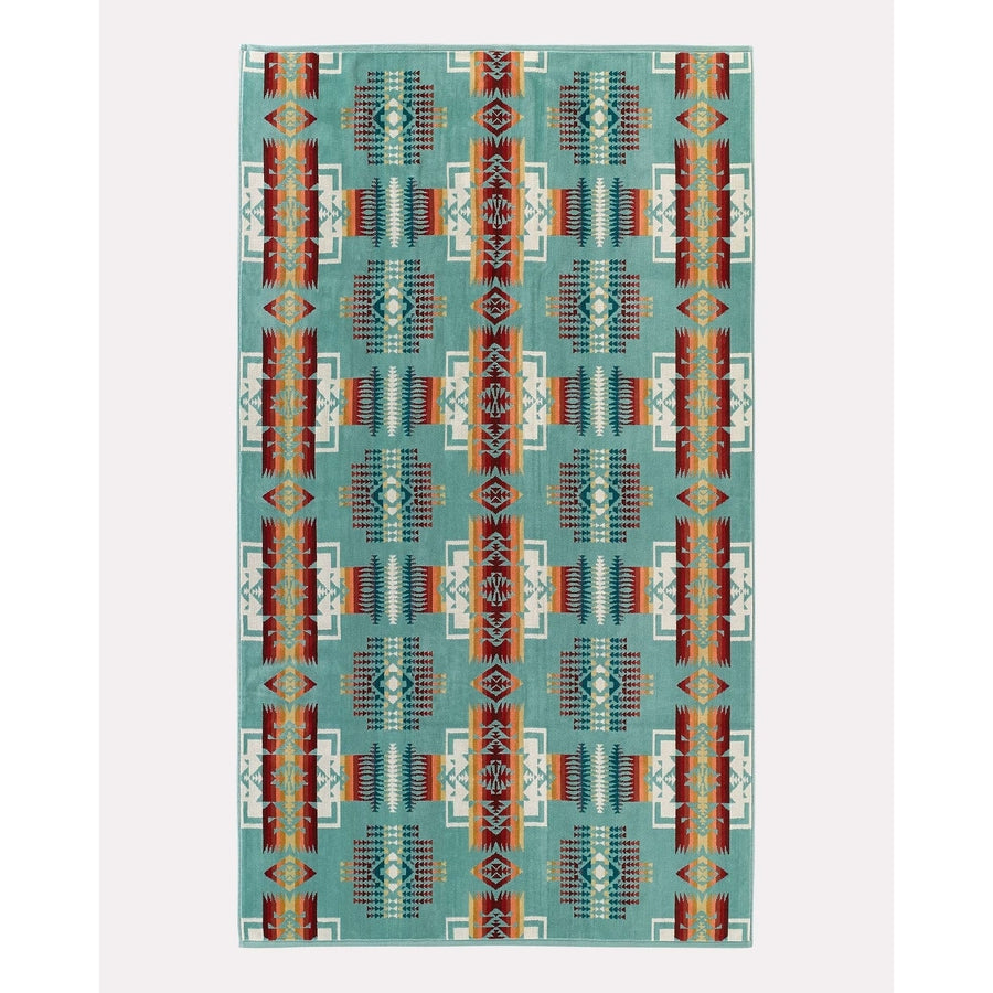Chief Joseph Spa Towel - Aqua