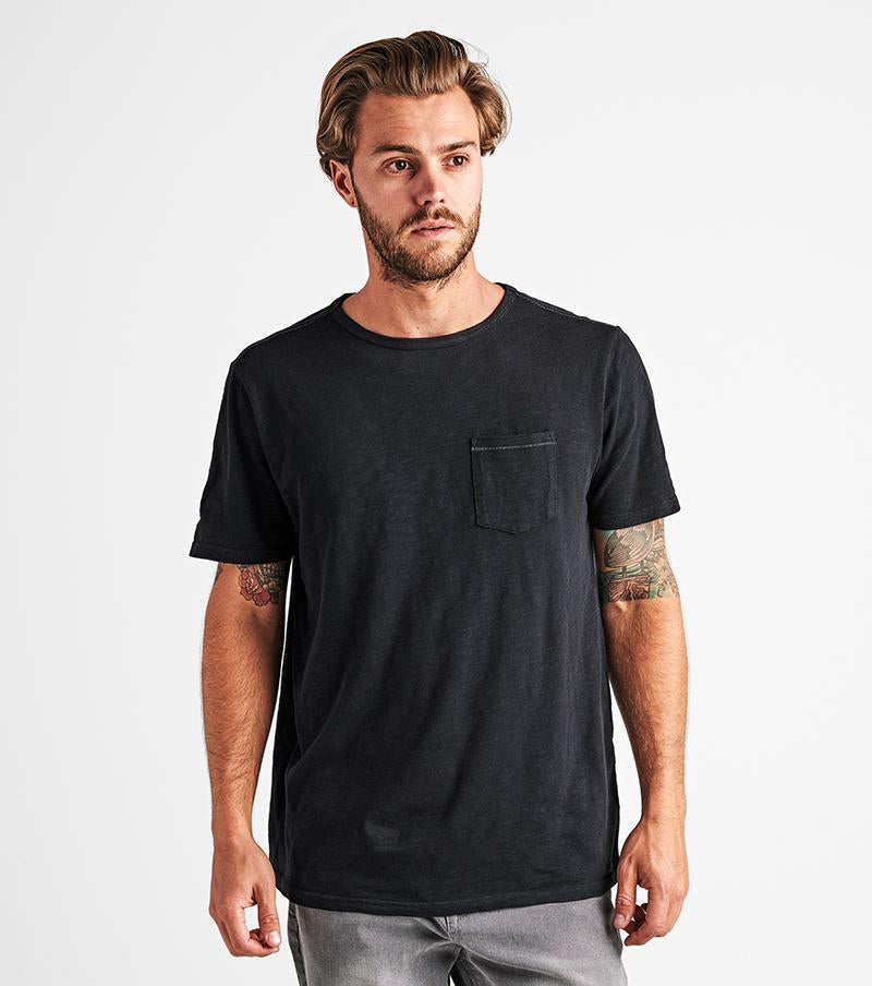 Well Worn Midweight Pocket Tee - Black