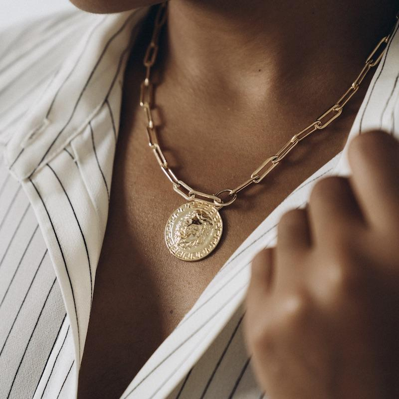 The Lion's Share Necklace - 14K Gold