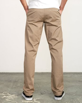 Men's Week-End Stretch Pants - Dark Khaki