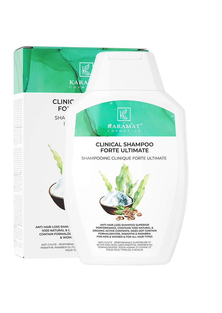 Shampooing clinique forte ultimate Karamat Cosmetics 300ML