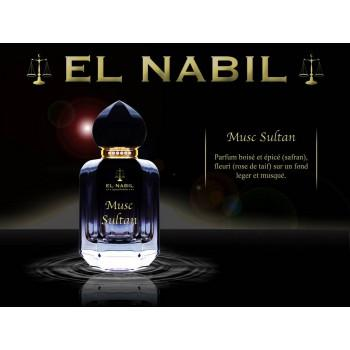 Parfum Spray El Nabil - Musc Sultan - 50 ml