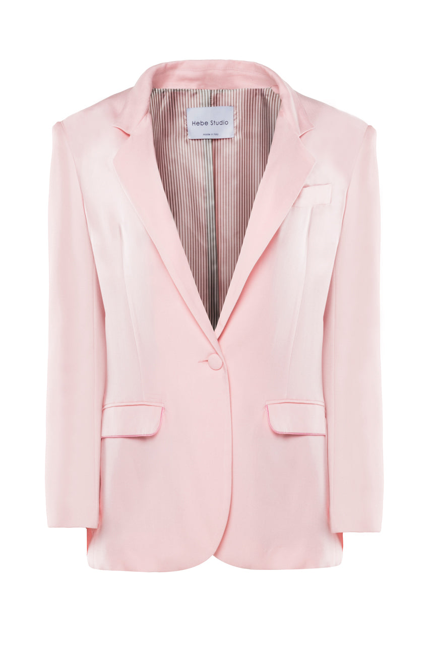 The Baby Pink Lover Blazer