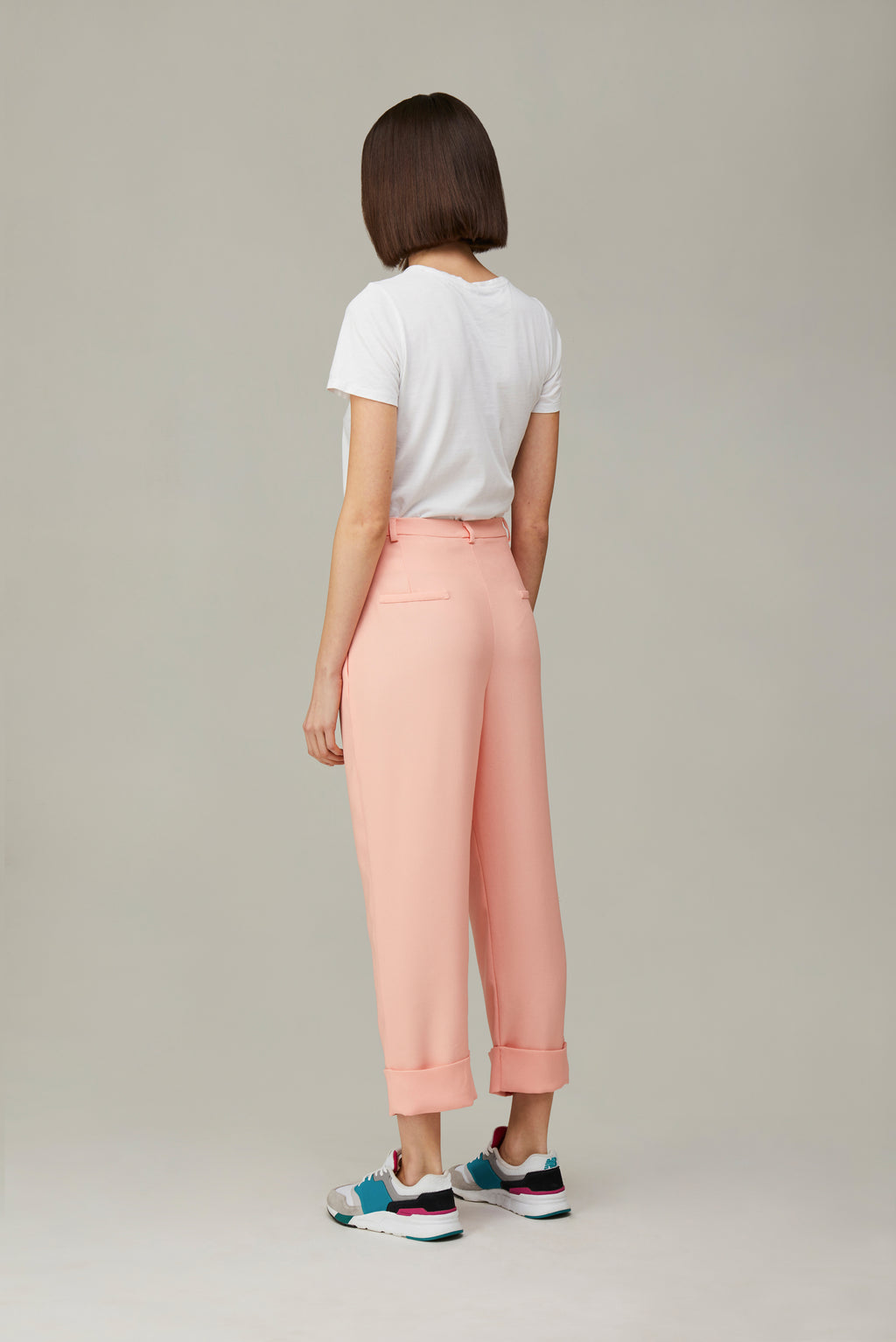The Salmon Boyfriend Pants