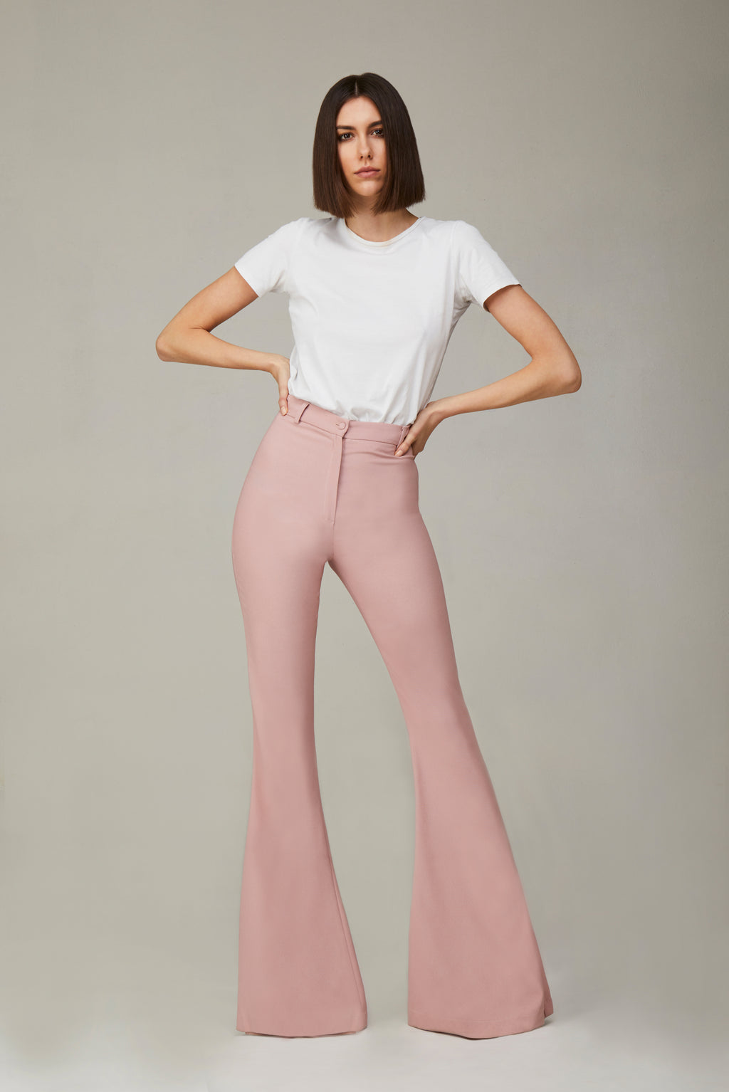 The Powder Pink Bianca Pants