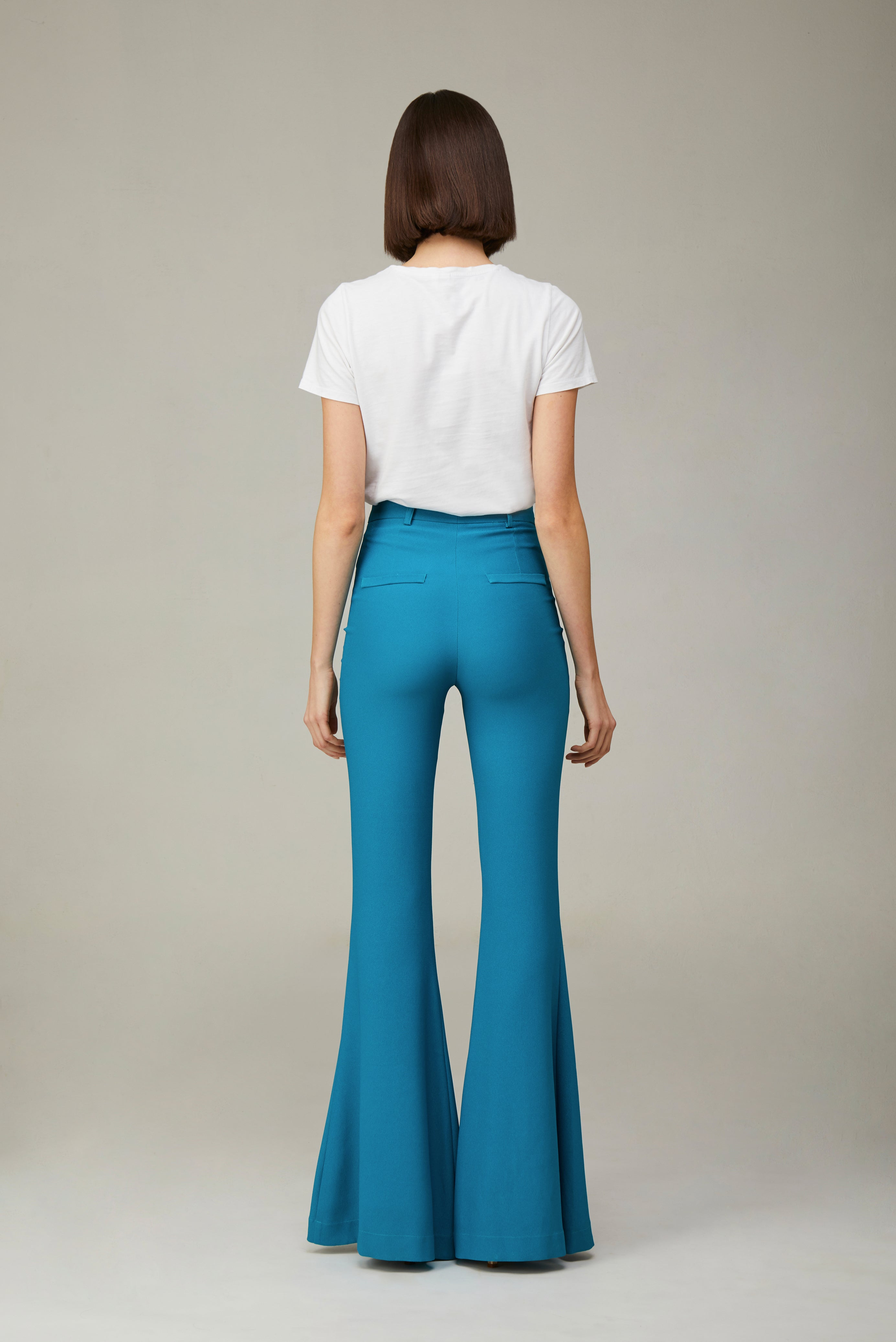 The Turquoise Bianca Pants