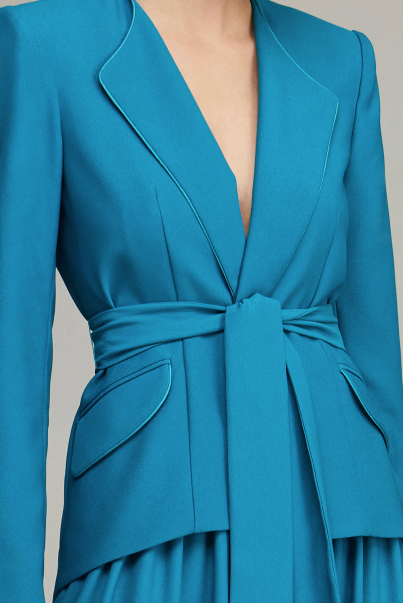 The Turquoise Girlfriend Blazer