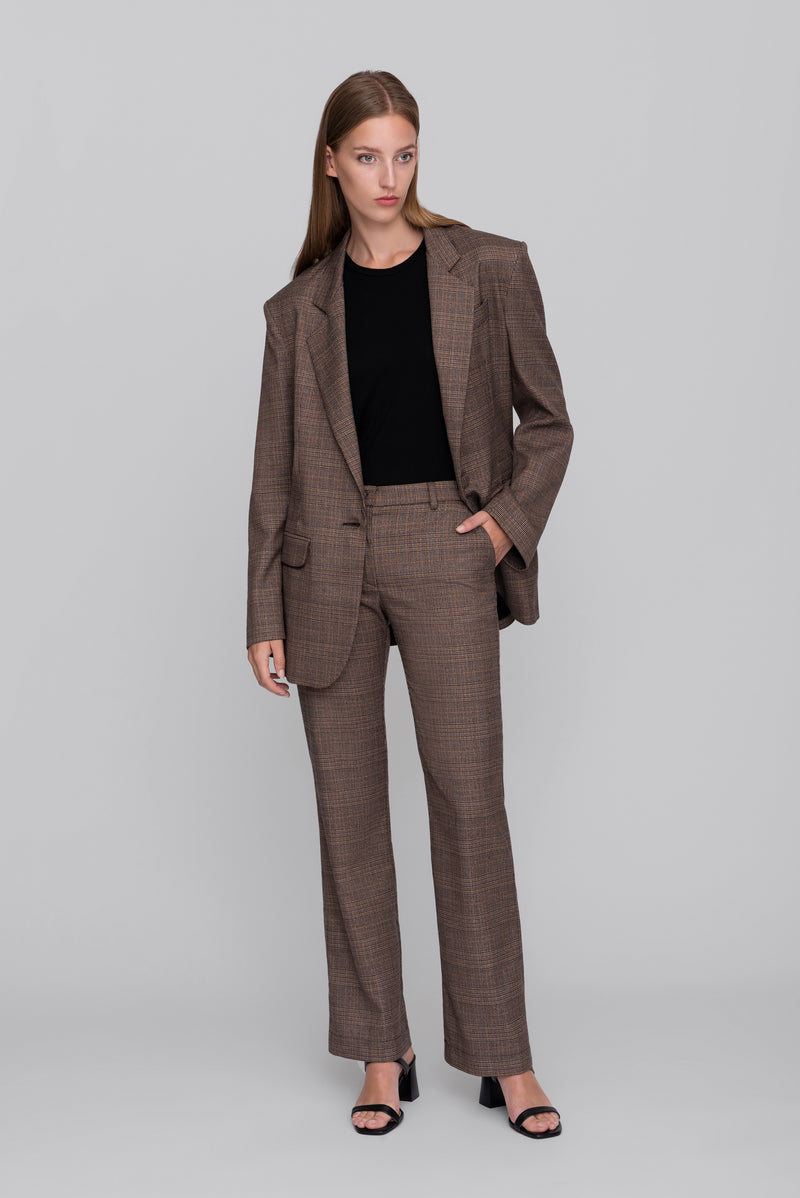 The Brown Galles Lover Blazer
