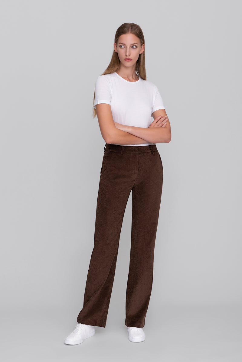 The Brown Corduroy Lover Pants