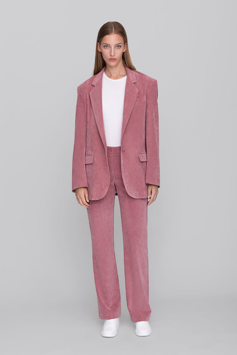 The Pink Corduroy Lover Pants