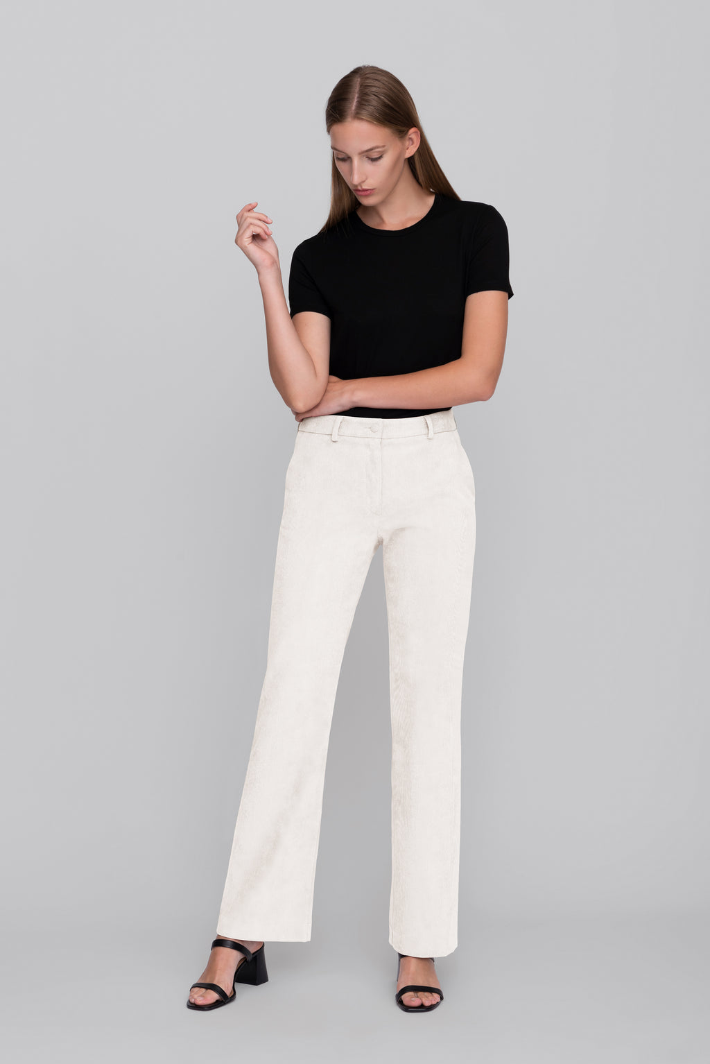 The Cream Corduroy Lover Pants