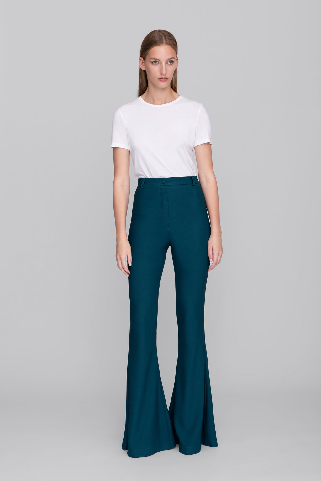 The Petrol Bianca Pants