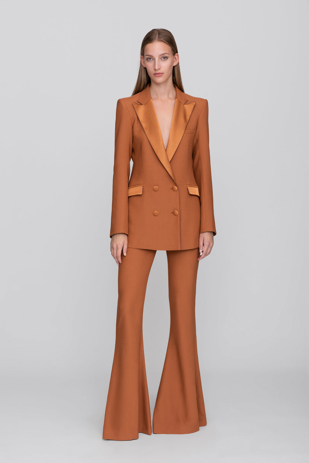 The Rust Bianca Blazer