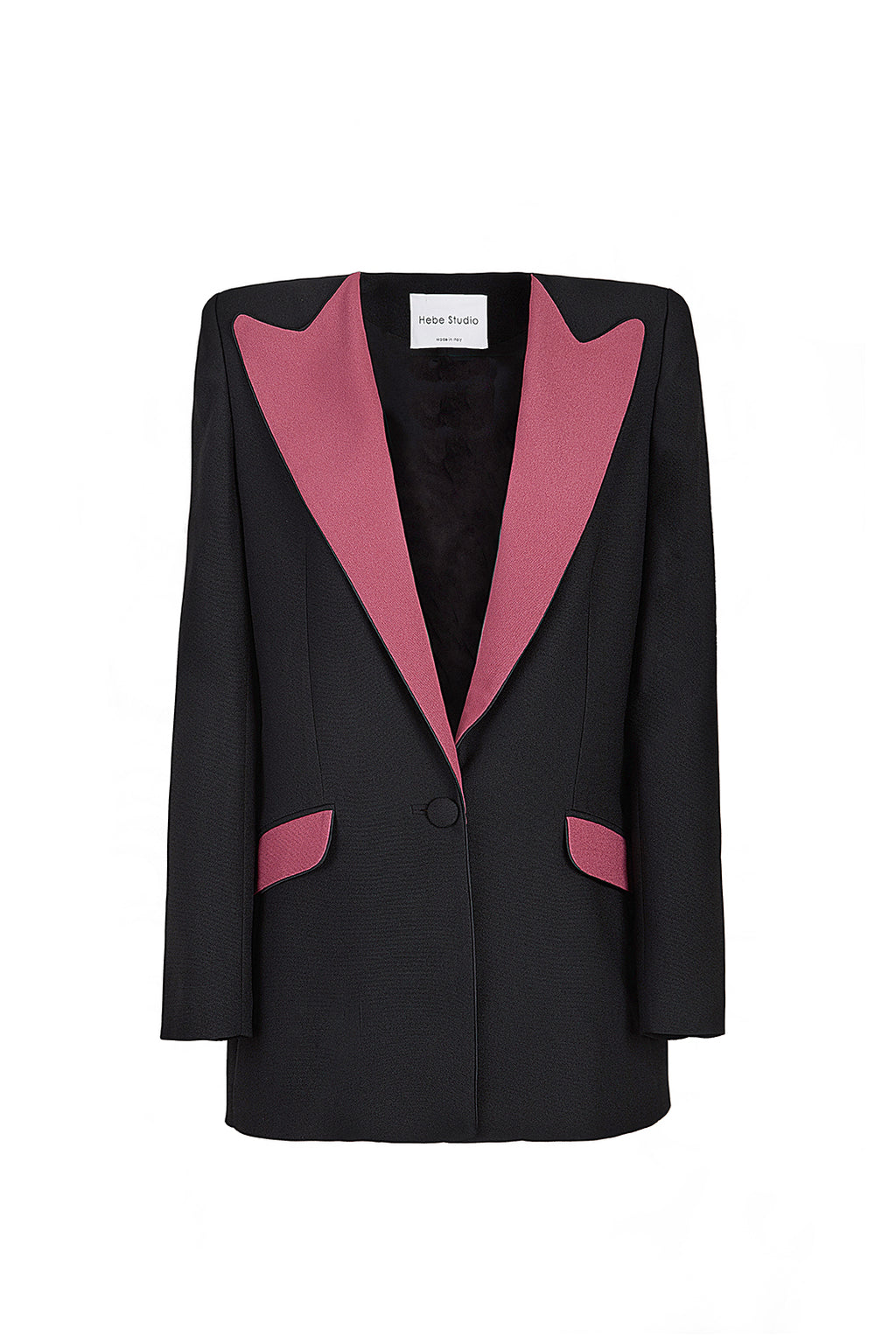 The Black & Ruby Boyfriend Blazer