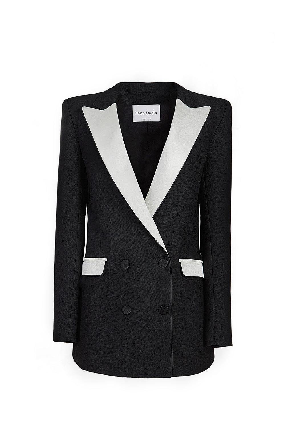The Black & Cream Bianca Blazer