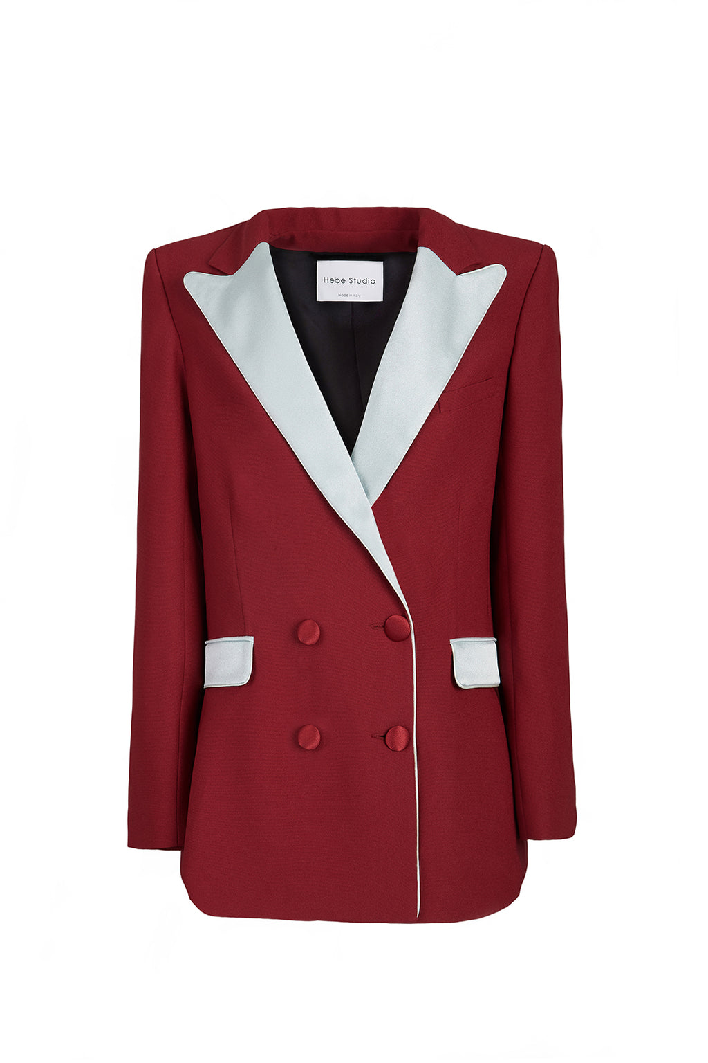 The Red & Teal Cady Bianca Blazer
