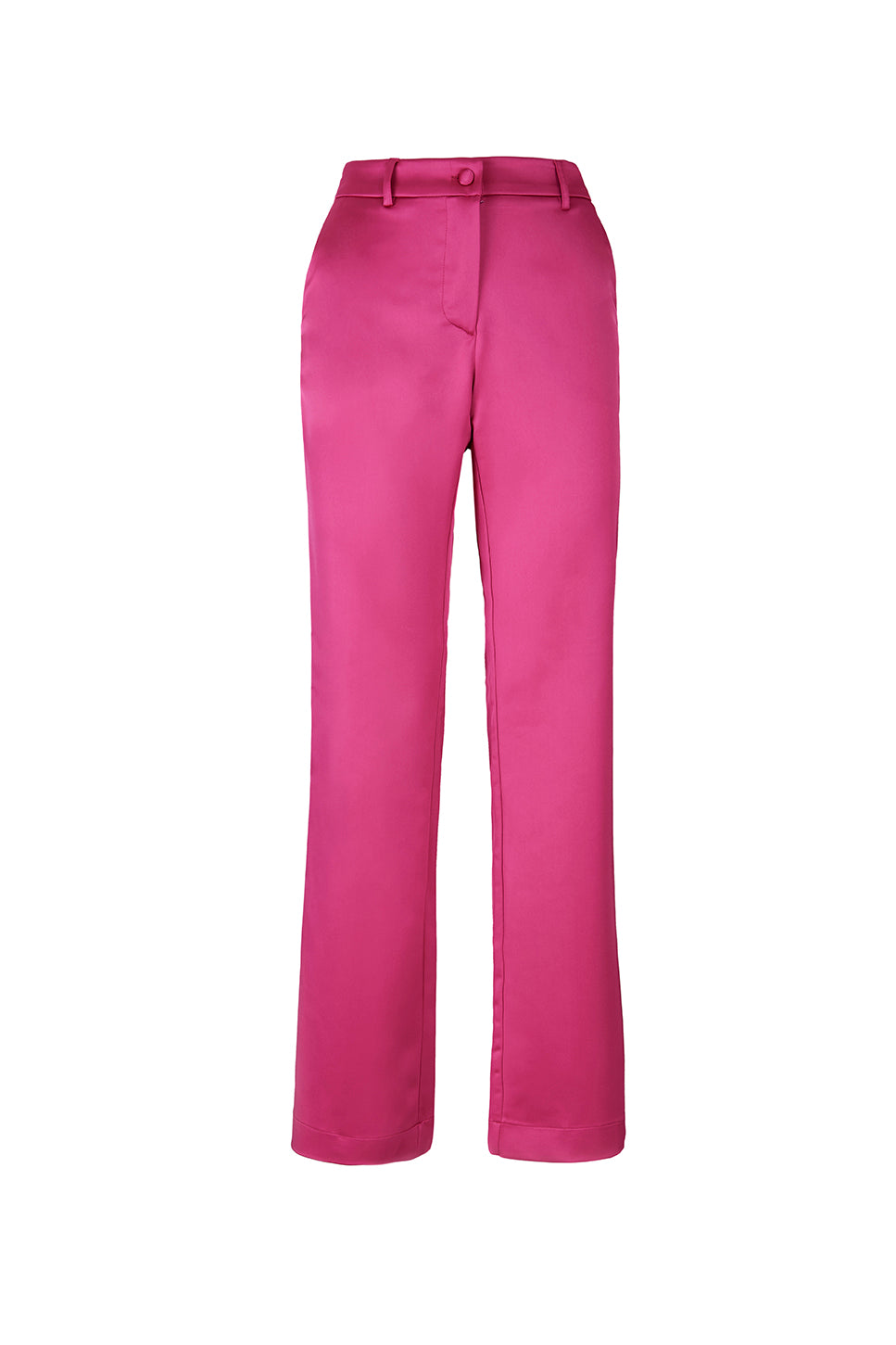 The Fuchsia Satin Lover Pants