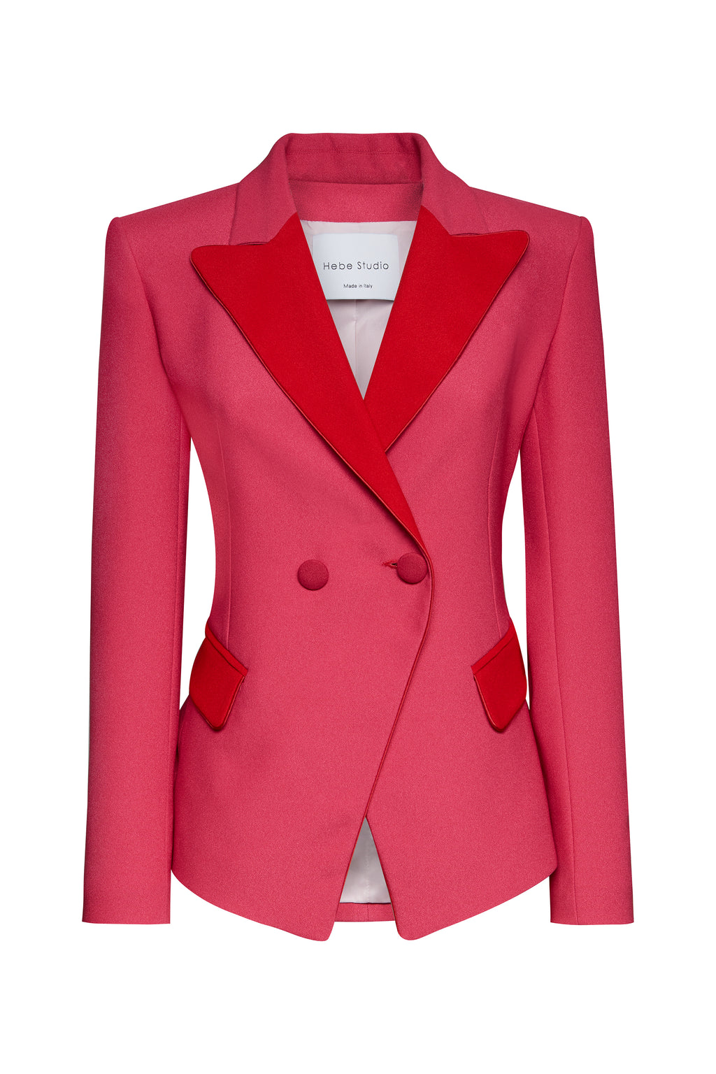 The Fucshia & Red LouLou Blazer