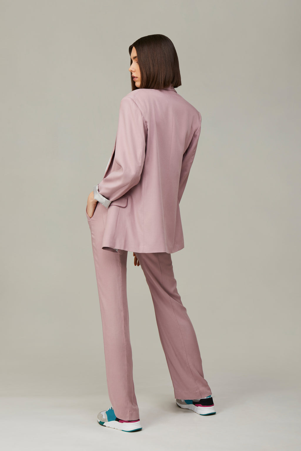 The Antique Pink Lover Blazer